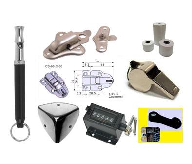Onderdelen, sluitingen & ijzerwaren