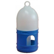 Fontein 1,0 liter blauw/wit met draagring