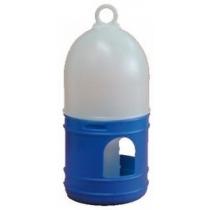 Fontein 1,5 liter blauw/wit met draagring