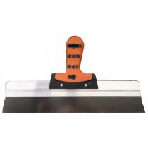 Afsteekmes  40 cm RVS softgrip handvat