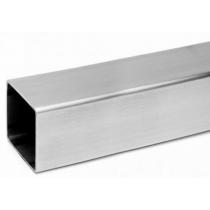 Aluminium profiel vierkant 2000x15x15x1.5 mm