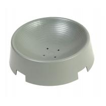 Broedschaal grijs gesloten Ø 23x7,5 cm