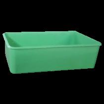 Voerbakje groen met haken