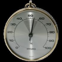 Hygrometer 85 mm messing