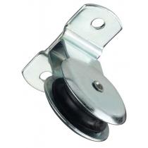 Katrol Markies 4 mm staand 32 mm wiel