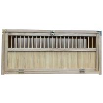 Opleermand bamboe  60x40x23 cm 1x boveninlaat