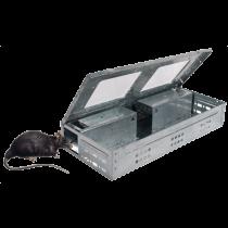 Rattenval met venster levend vangen