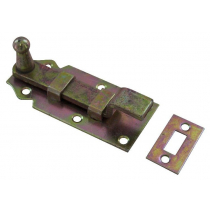 Schuif 140x55 mm met rol & bocht