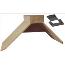Zitje:4 mm multiplex / hout met clip
