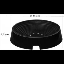 Broedschaal zwart Ø 18/4,5 cm kleine rassen