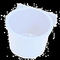 Voerbak: DeLuxe á 20 stuks wit