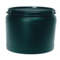 Vat bewaarton voor voer 25 liter groen