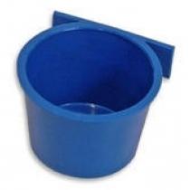 Voerbak: DeLuxe á 8 stuks blauw