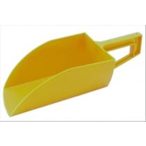 Voerschep liggend model geel
