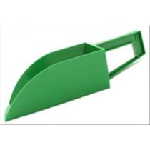 Voerschep liggend model groen