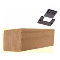 Zit-rustblokje inclusief clipsysteem